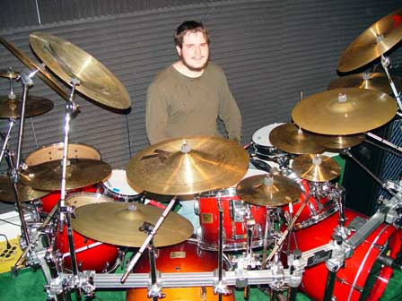 Philip Winter on drums