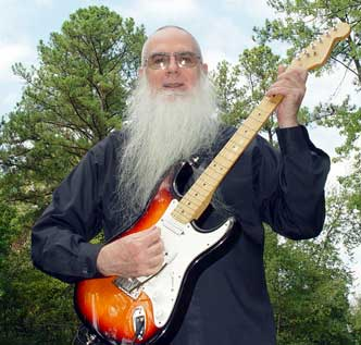 Bro. Steve Winter and stratocaster